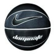 NIKE DOMINATE 8P, lopta za košarku, bela
