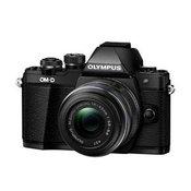 OLYMPUS D-SLR fotoaparat OM-D E-M10 II + EZ-M14-42mm II R (V207051BE000), črn