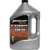 Quicksilver Racing 4-StrokeMarine Oil Synthetic Blend 25W-50 4L