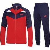 Puma Muška trenirka Crvena S Iconic Woven Suit