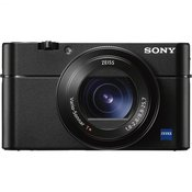 SONY digitalni fotoaparat DSC-RX100M5, črn