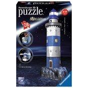 Ravensburger 3D puzzle (slagalice) Night Edition - Svetionik RA12577
