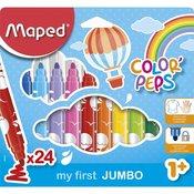 Maped flomasteri Color Max Peps Jumbo 1/24 M846222