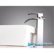 kopalniška armatura za umivalnik z obliko slapa | Predstavljamo vam elegantna kopalniška pipa EYN 103 (25 cm)