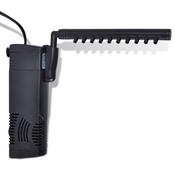 VIDAXL akvarijska filtrirna črpalka z aktivnim karbonom 300 l/h