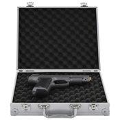 Kutija za oružje aluminijska ABS srebrna