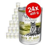 Wolf of Wilderness Senior 6 x 400 g - Wild Hills - pačetina i teletina