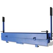 VIDAXL orodje za ročno krivljenje jeklenih plošč 1000 mm