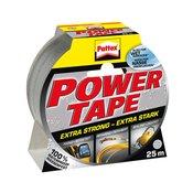 Pattex Ljepljiva traka od tkanine Pattex Power Tape srebrna (D x Š) 25 m x 50 mm kaucuk, sadržaj: 1 rola