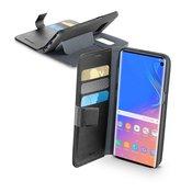 Cellularline Cellularline BOOKAGGALS10K Stražnji poklopac za mobilni telefon Pogodno za: Galaxy S10 Crna