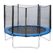 trampolin z zaščitno mrežo, 305CM