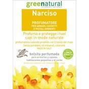 GREENATURAL dišeče vrečke za garderobno omaro - Narcise