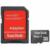 SanDisk SD 16GB Micro sa adapterom mobile