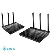 NET ASUS Router Wireless RT-AC67U AiMesh (2 kom)
