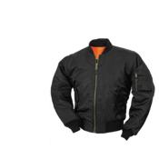 Surplus fajerka crna jakna MA1 pilot