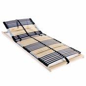 VIDAXL Letveno dno za posteljo 42 letvic 7 con 70x200 cm