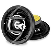 AUNA par avtomobilskih HI-FI zvočnikov 6.5 (600W), črn