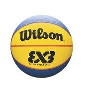 Wilson Fiba 3x3 Mini Rubber, lopta za košarku, plava