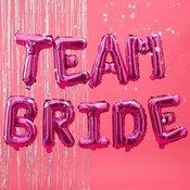 Baloni TEAM BRIDE črke