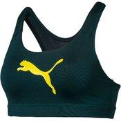 Puma ženski sportski grudnjak 4Keeps Bra M Ponderosa Pine, M, tamno zeleni