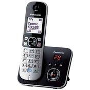 PANASONIC bežični telefon KX-TG6821P SREBRNI
