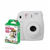 FujiFilm Instax Mini 9: bijeli + mini film