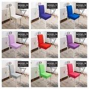 SUPER CENA za raztegljive prevleke za stole! Na voljo v kar 19 različnih barvah!
