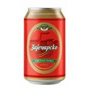 Pivo zajecarsko 0.33l limenka