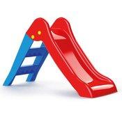 Tobogan za decu crveno-plavi Dolu