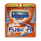 GILLETTE Fusion nadomestna rezila, 12 kosov
