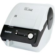 Brother printer za naljepnice QL-500BW Brother termalni 300 x 300 dpi širina naljepnice (maks.): 62 mm USB