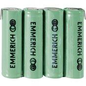 Emmerich NiMH mignon akumulatorski paket Emmerich, 4,8 V, Z-lemna zastavica