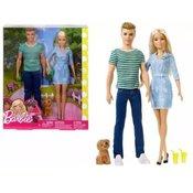 Barbie i Ken sa psom FTB72