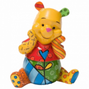 THE ROMERO BRITTO Winnie Pooh Figurine - 4033896 Disney, 18 cm
