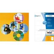 Etikete 59X50 ZIP + Diskete A4/15 1/25 bela