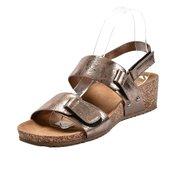 SAFRAN anatomske sandale na čičak LS02854, bronzane