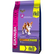 15 kg + 3 kg besplatno! Eukanuba suha hrana za pse - Puppy Medium Breed ChickenBESPLATNA dostava od 299kn