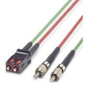 Phoenix Contact Opticki kabel Phoenix Contact VS-PC-2XHCS-200-SCRJ/FSMA-1 svjetlovodni kabel za spajanje