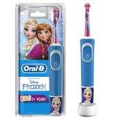 ORAL-B električna zobna ščetka Vitality Kids D100, Ledeno kraljestvo