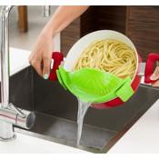 InnovaGoods silikonsko cjedilo Kitchen Foodies