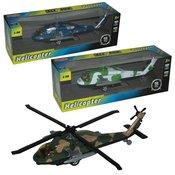 Metalni helikopter 1:96, zvuk i svjetlo