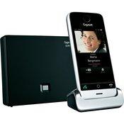 GIGASET brezžični telefon SL910A, črna