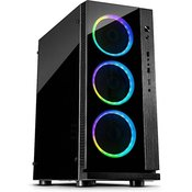 INTER-TECH gaming ATX ohišje W-III RGB