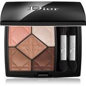 Dior 5 Couleurs paleta senčil za oči 5 barv odtenek 647 Undress 7 g
