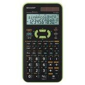 SHARP tehnični kalkulator EL-520XGR, zelen