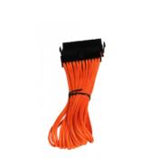 Bitfenix Struja Produžetak [1x 24-polni električni muški konektor ATX - 1x 24-polni električni ženski konektor ATX] 30 cm Narančasta, Crn