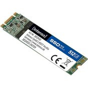 SSD Intenso M.2 512GB TOP, SATA3, b/z: 520 / 490 MB/s (3832450)
