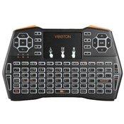 Gembird GMB-I8 PLUS 2.4GHz viboton Wireless Mini keyboard with backlight