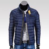 OMBRE CLOTHING muška jakna bez kapuljace Sterling, tamno plava, S