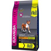 15 kg + 3 kg besplatno! Eukanuba suha hrana za pse - Adult Medium Breed ChickenBESPLATNA dostava od 299kn
